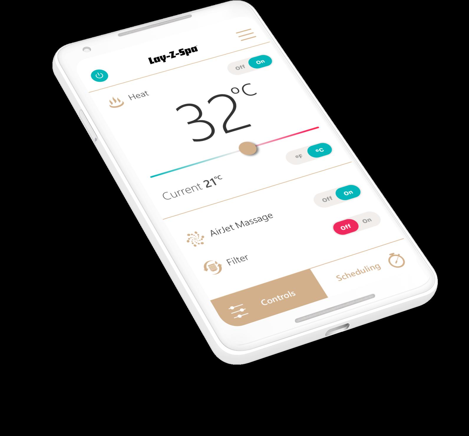 Lay-Z-Spa App